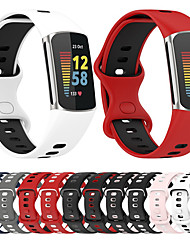 cheap -Smart Watch Band for Fitbit 1 pcs Sport Band Silicone Replacement  Wrist Strap for Fitbit Charge 5