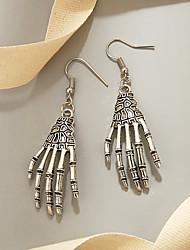 cheap -Women's Earrings Vintage Style Skull Stylish Gothic Punk European Cool Earrings Jewelry Silver For Party Halloween Street Club Festival
