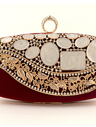 cheap -Women's Bags Clutch Evening Bag Evening Party Formal Date Blue Black Red Brown