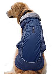 cheap -Dog Winter Coat Cozy Waterproof Windproof Vest Winter Coat Warm Dog Apparel Cold Weather Dog Jacket