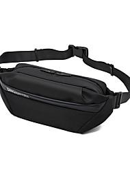 cheap -Men's Bags Oxford Cloth Nylon Sling Shoulder Bag Zipper Solid Color Daily Outdoor Retro Tote Gray Black