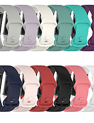 cheap -Smart Watch Band for Fitbit 1 pcs Modern Buckle Silicone Replacement  Wrist Strap for Fitbit Charge 5