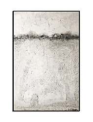 cheap -Oil Painting Handmade Hand Painted Wall Art Modern White Texture Abstract Picture Large Size Home Decoration Decor Rolled Canvas No Frame Unstretched