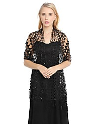 cheap -Sleeveless Elegant Lace Party / Evening / Birthday Women's Wrap With Lace / Hollow-out