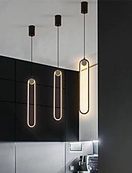 cheap -8.3 cm Single Design Pendant Light Aluminium Alloy Painted Finishes LED Nordic Style 220-240V