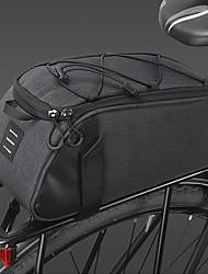 cheap -Bike Rack Bag Waterproof Portable Reflective Strips Bike Bag 300D Polyester Bicycle Bag Cycle Bag Cycling Outdoor Exercise