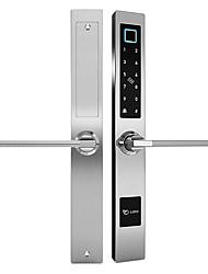 cheap -Thermal Break Aluminum Frame Door Tuya Fingerpeint Lock