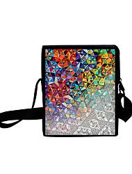 cheap -Unisex Bags Oxford Cloth Crossbody Bag Zipper Daily Outdoor 3D Print Rainbow