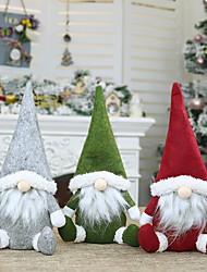 cheap -2021 Christmas Ornaments Faceless Old Man Christmas Decorations Doll Window Decorations Christmas Decorations Nordic Style Decorative Doll