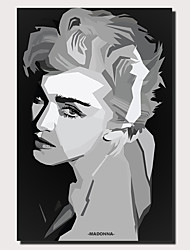 cheap -1 Panel Wall Art Canvas Prints Painting Artwork Picture Madonna Painting Home Decoration Decor Rolled Canvas No Frame Unframed Unstretched