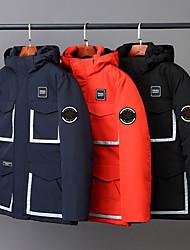 cheap -men's outdoor padded puffer fleece lined warm vest sleeveless jacket blue xl