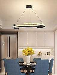 cheap -50/60 cm Single Design Chandelier Metal Artistic Style Modern Style Stylish Painted Finishes LED Modern 220-240V