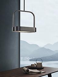 cheap -Pendant Light LED Pendant Lantern Design Modern For Bedroom / Dining Room Acrylic 220-240V Black