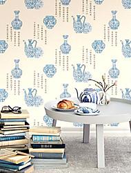 cheap -Wallpaper Wall Covering Sticker Film Tradition Retro Vinyl PVC Home Decor 53*1000cm