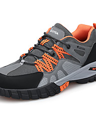cheap -Unisex Trainers Athletic Shoes Classic Chinoiserie Office & Career Safety Shoes Patent Leather Booties / Ankle Boots Orange Black Fall