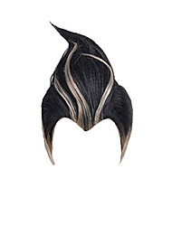 cheap -gandamu tanaka cosplay wig black brown short straight hair party halloween daily dangan costume boys men wigs