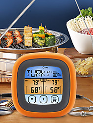 cheap -Digital Meat Kitchen Thermometer Meat Temperature Probe Waterproof Stainless BBQ Temperature Gauge