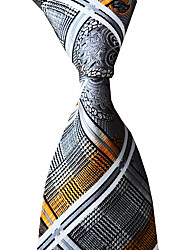 cheap -Men's Work / Wedding / Gentleman Necktie - Striped Formal Style / Classic / Jacquard
