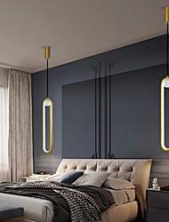 cheap -40 cm Single Design Pendant Light Aluminium Alloy Formal Style Modern Style Stylish Painted Finishes LED Modern 220-240V