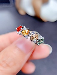 cheap -Ring Mismatched Silver Copper Silver Plated Artistic Fashion Punk 1pc Adjustable / Women's / Open Cuff Ring / Open Ring / Adjustable Ring