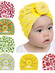 cheap -6 pcs/set Baby Tire Hat Children's Fruit Pattern Pullover Hat