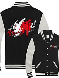 cheap -Inspired by Akame Ga Kill! Tatsumi Kon Anime Cartoon Poly / Cotton Anime Harajuku Graphic Kawaii Coat For Men's / Women's / Couple's