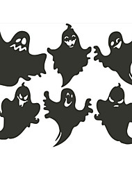 cheap -Halloween Accessory Window Sticker Cute Funny Holiday Fantacy Ghost PVC (Polyvinylchlorid) Artistic / Retro Contemporary Teenager Adults' All Toy Gift / 14 Years & Up