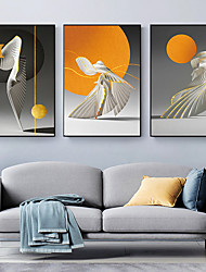 cheap -Wall Art Canvas Prints Painting Artwork Picture Modern Abstract Home Decoration Decor Rolled Canvas No Frame Unframed Unstretched