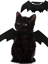 cheap -Pet Cat Bat Wings for Halloween Party Decoration, Puppy Collar Leads Cosplay Bat Costume,Cute Puppy Cat Dress Up Accessories