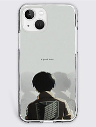 cheap -Attack on Titan Cartoon Characters Phone Case For Apple iPhone 13 12 Pro Max 11 SE 2020 X XR XS Max 8 7 Unique Design Protective Case Shockproof Dustproof Back Cover TPU