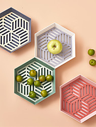 cheap -geometric fruit tray modern minimalist dried fruit tray living room household snacks candy bowl new kitchen drain fruit basket