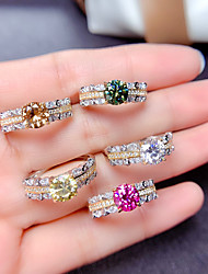cheap -Ring Mismatched Yellow Pink Champagne Copper Silver Plated Artistic Fashion Punk 1pc Adjustable / Women's / Open Cuff Ring / Open Ring / Adjustable Ring
