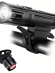 cheap -LED Bike Light LED Light Rechargeable Bike Light Set Front Bike Light LED Bicycle Cycling Waterproof Professional Cool USB Charging Output Rechargeable Li-Ion Battery 400 lm Rechargeable Battery