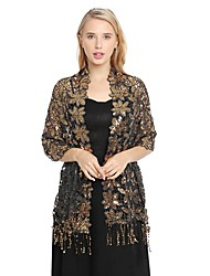 cheap -Sleeveless Elegant Lace Party / Evening / Birthday Women's Wrap With Lace