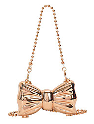 cheap -Women's Bags Evening Bag Solid Color Party / Evening Going out Evening Bag Silver Gold
