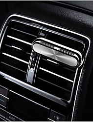 cheap -1 Pack Custom Car Vent Clip Cylindrical Essential Oil Car Diffuser Vent Clip with 1 Refill Sticks Automotive Air Fresheners for Car One Key Switch Easy to Operate Aluminum