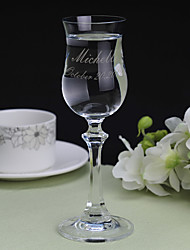 cheap -Silver Plated / Glass / Zinc Alloy Toasting Flutes Gift Box Wedding All Seasons
