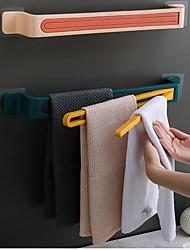 cheap -3 in 1 Towel Holder Bathroom Wall Mounted Folding Towel Rack Kitchen Pot Cover Towel Storage Rack Bathroom Rotating Towel Bar