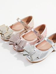cheap -Girls' Flats Princess Shoes PU Big Kids(7years +) Little Kids(4-7ys) Blushing Pink Silver Gold Fall