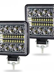 cheap -1pcs New Led light bar 102w 3030 Led 34SMD Square Spotlight Off road LED work light 12V 24V For Auto Truck 4X4  Bar 4WD Car SUV ATV