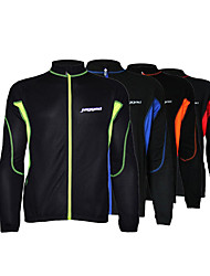 cheap -Men's Cycling Jacket Winter Bike Top Quick Dry Moisture Wicking Sports Patchwork Black / Red / Black / Orange / Black / Green Clothing Apparel Bike Wear / Long Sleeve / Micro-elastic / Athleisure
