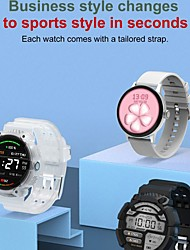 cheap -DT NO.1 DT2 1.19 inch 390*390px High-Resolution Touch Screen bluetooth Call Heart Rate Monitor Menstrual Cycle Reminder Split-screen Display IP68 Waterproof Smart Watch