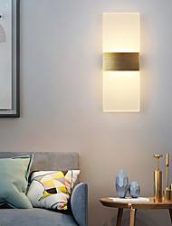 cheap -Matte Modern LED Wall Lights LED Bedroom Dining Room Acrylic Wall Light 220-240V 10 W