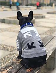 cheap -dog clothes fall/winter pullover sweater schnauzer pomeranian corgi fight vip pet cat tide brand clothing
