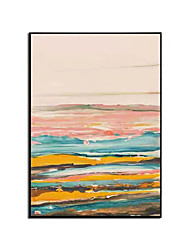 cheap -Oil Painting Handmade Hand Painted Wall Art Abstract Colorful Landscape Decorative Home Decoration Decor Stretched Frame Ready to Hang