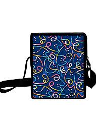 cheap -Unisex Bags Oxford Cloth Crossbody Bag Zipper Daily Outdoor 3D Print Blue