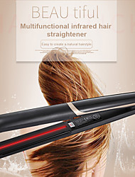 cheap -Professional Infrared Flat Iron Hair Curler Anion Hair Straightening Curling Ceramic Plate Tool MH88