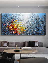 cheap -Oil Painting Handmade Hand Painted Wall Art Abstract Landscape Color Forest  Home Decoration Decor Stretched Frame Ready to Hang