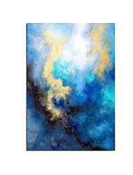 cheap -Oil Painting Handmade Hand Painted Wall Art Modern Impression Landscape Abstract Home Decoration Decor Stretched Frame Ready to Hang