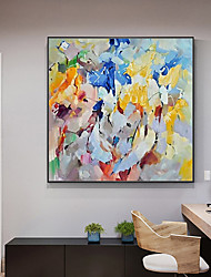 cheap -Oil Painting Handmade Hand Painted Wall Art Mintura Modern Abstract Pictures For Home Decoration Decor Rolled Canvas No Frame Unstretched